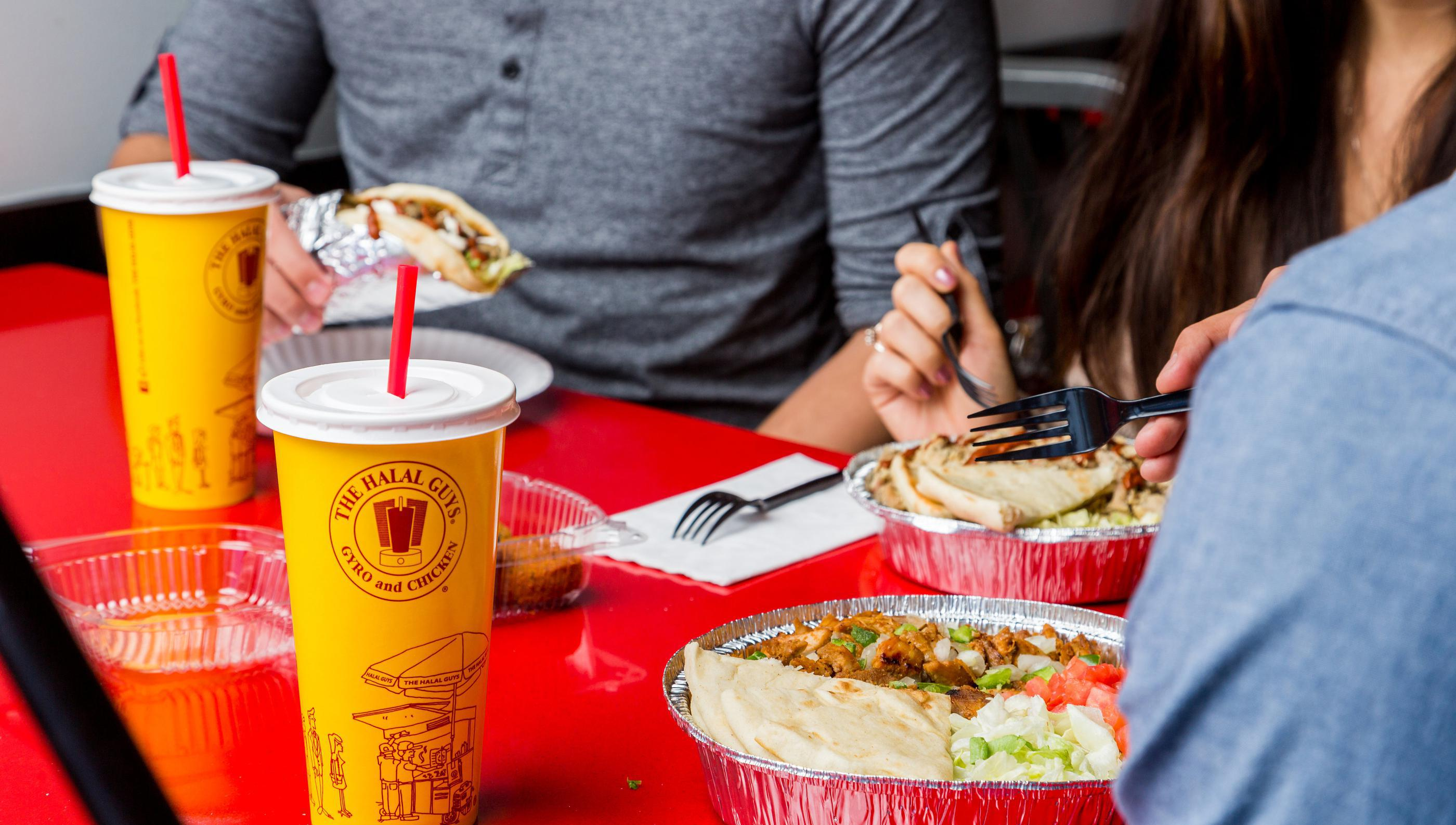 New Haven Ct The Halal Guys Gyro And Chicken